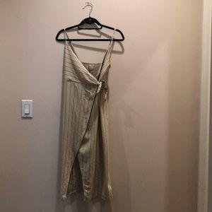 Urban Officer Maxi Wrap Dress